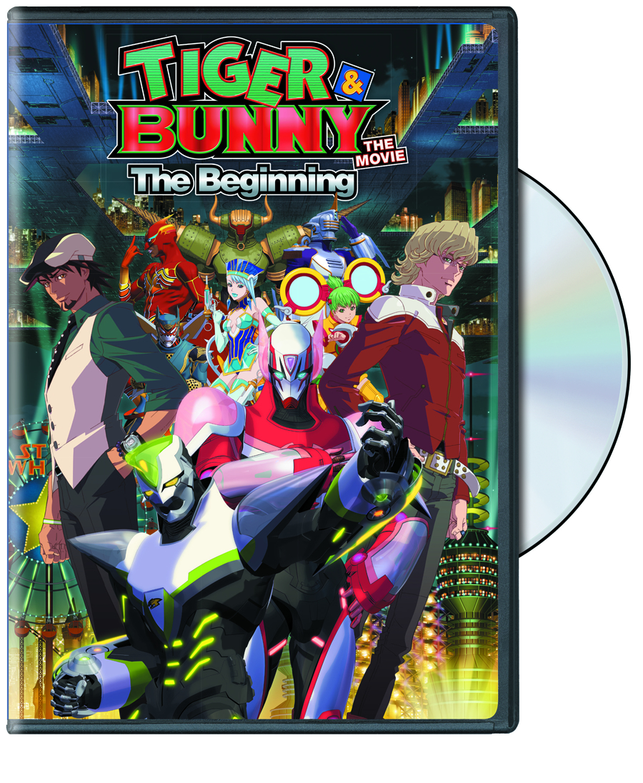 TIGER & BUNNY THE MOVIE THE BEGINNING DVD