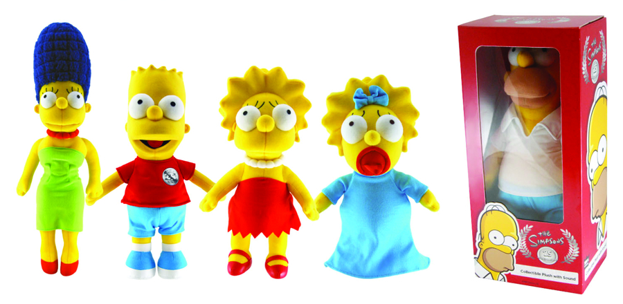 SIMPSONS 25TH ANN 24IN HOMER PLUSH