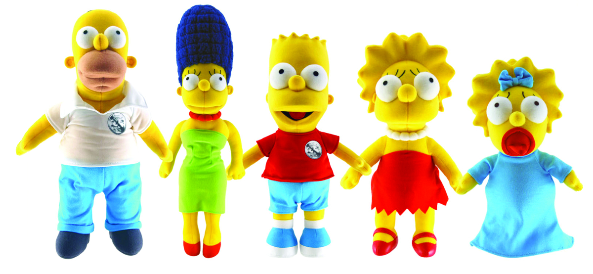 SIMPSONS 25TH ANN 24IN BART PLUSH