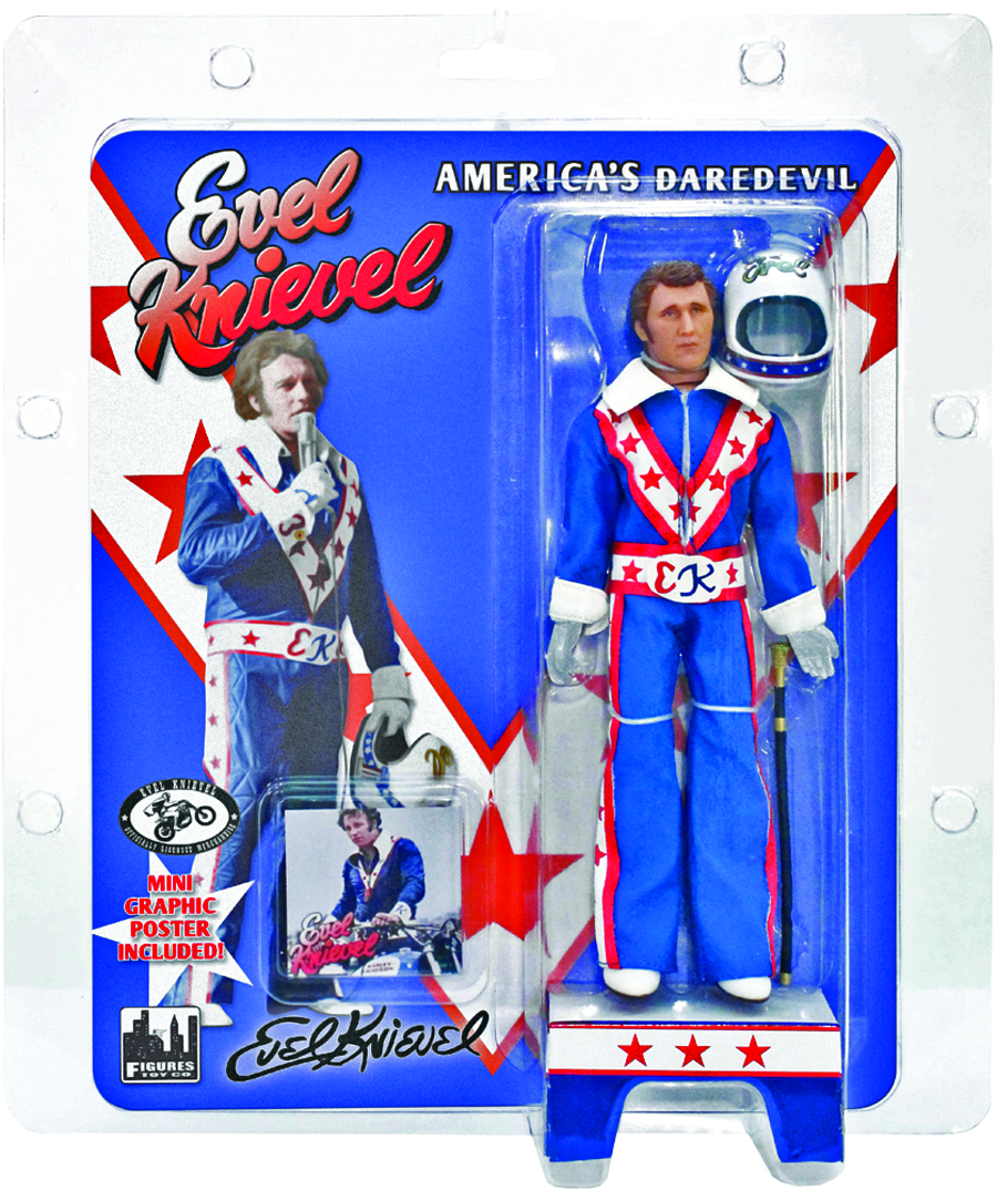 EVEL KNIEVEL 12-IN RETRO AF ASST