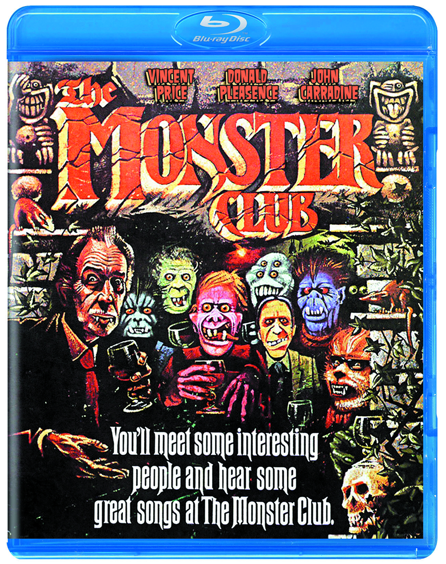 MONSTER CLUB DVD