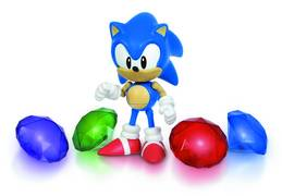 SONIC 5IN AF W/LIGHT UP CHAOS EMERALDS BOX SET