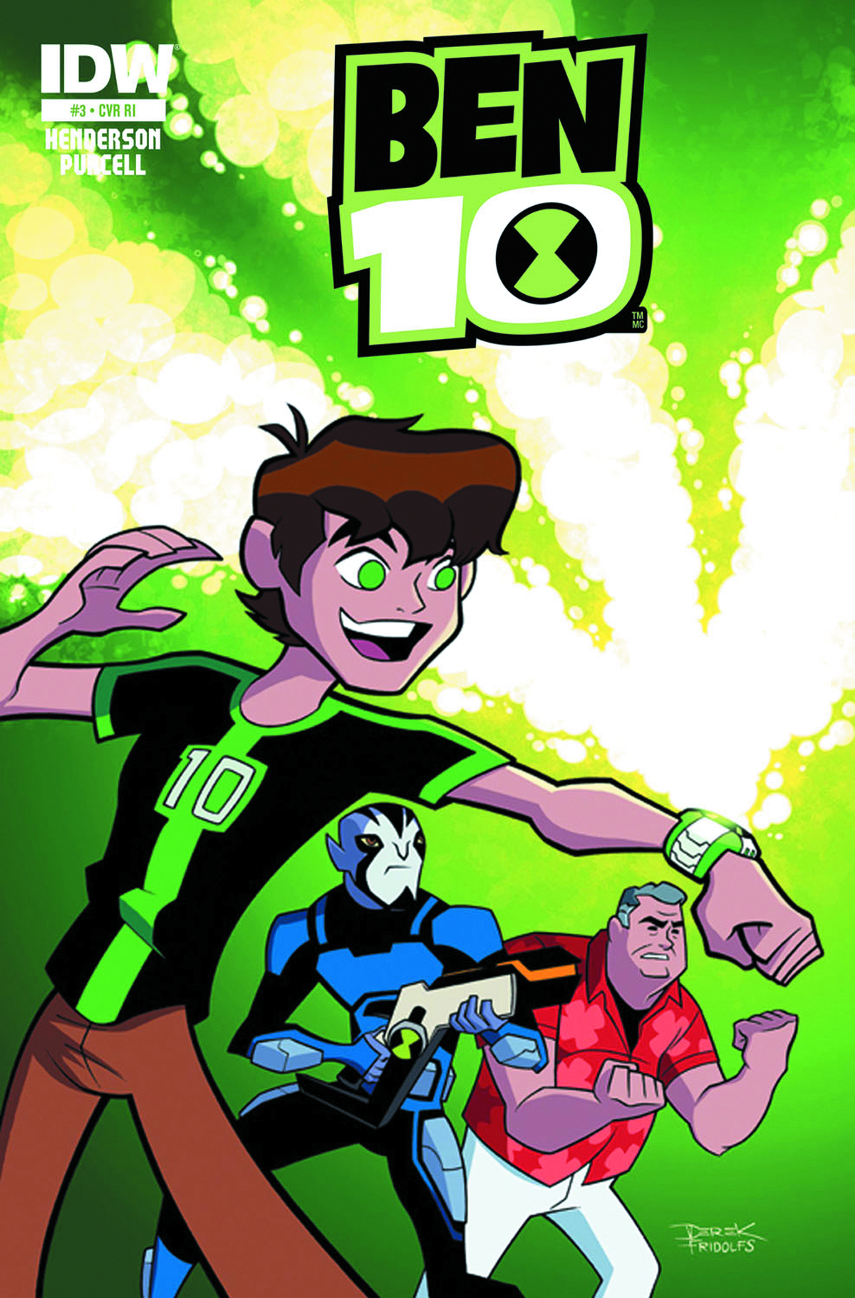BEN 10 #2 SUBSCRIPTION VAR