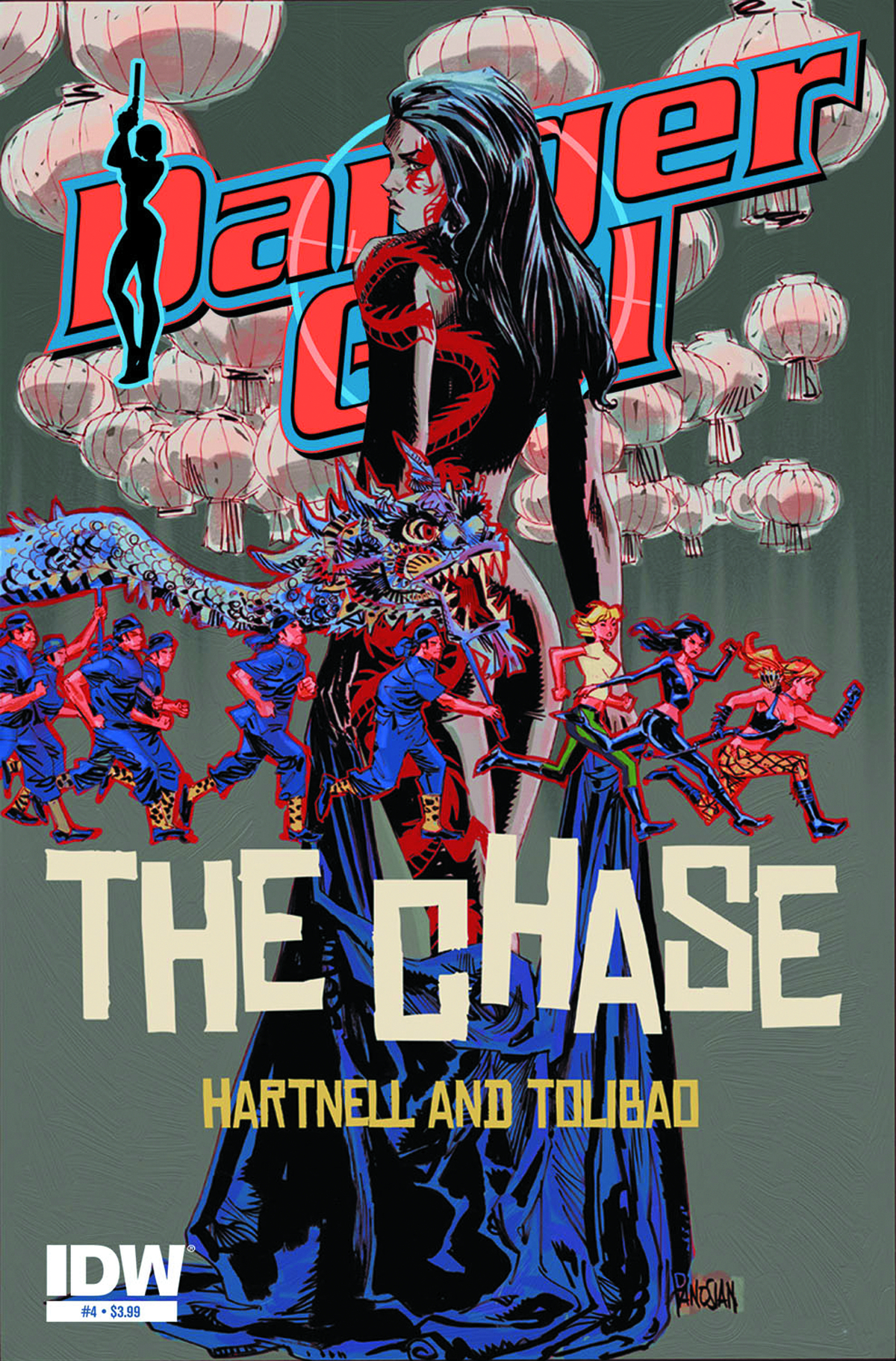 DANGER GIRL THE CHASE #4