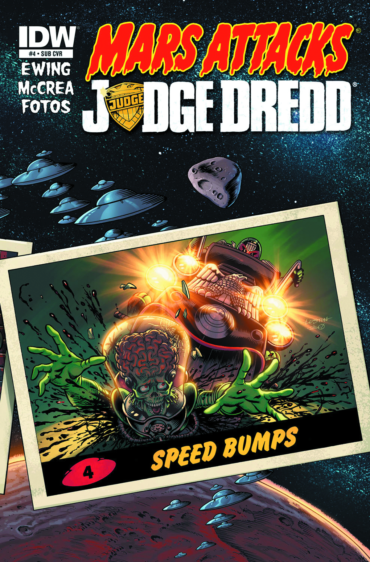 MARS ATTACKS JUDGE DREDD #4