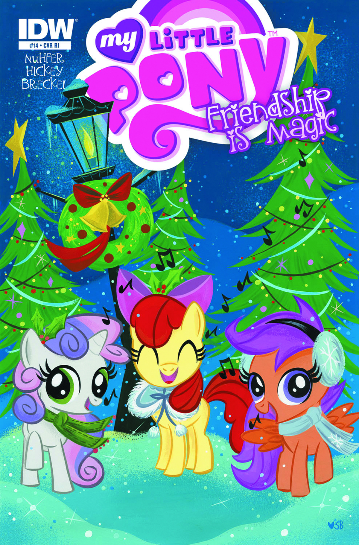 MY LITTLE PONY FRIENDSHIP IS MAGIC #14 FREE 10 COPY INCV