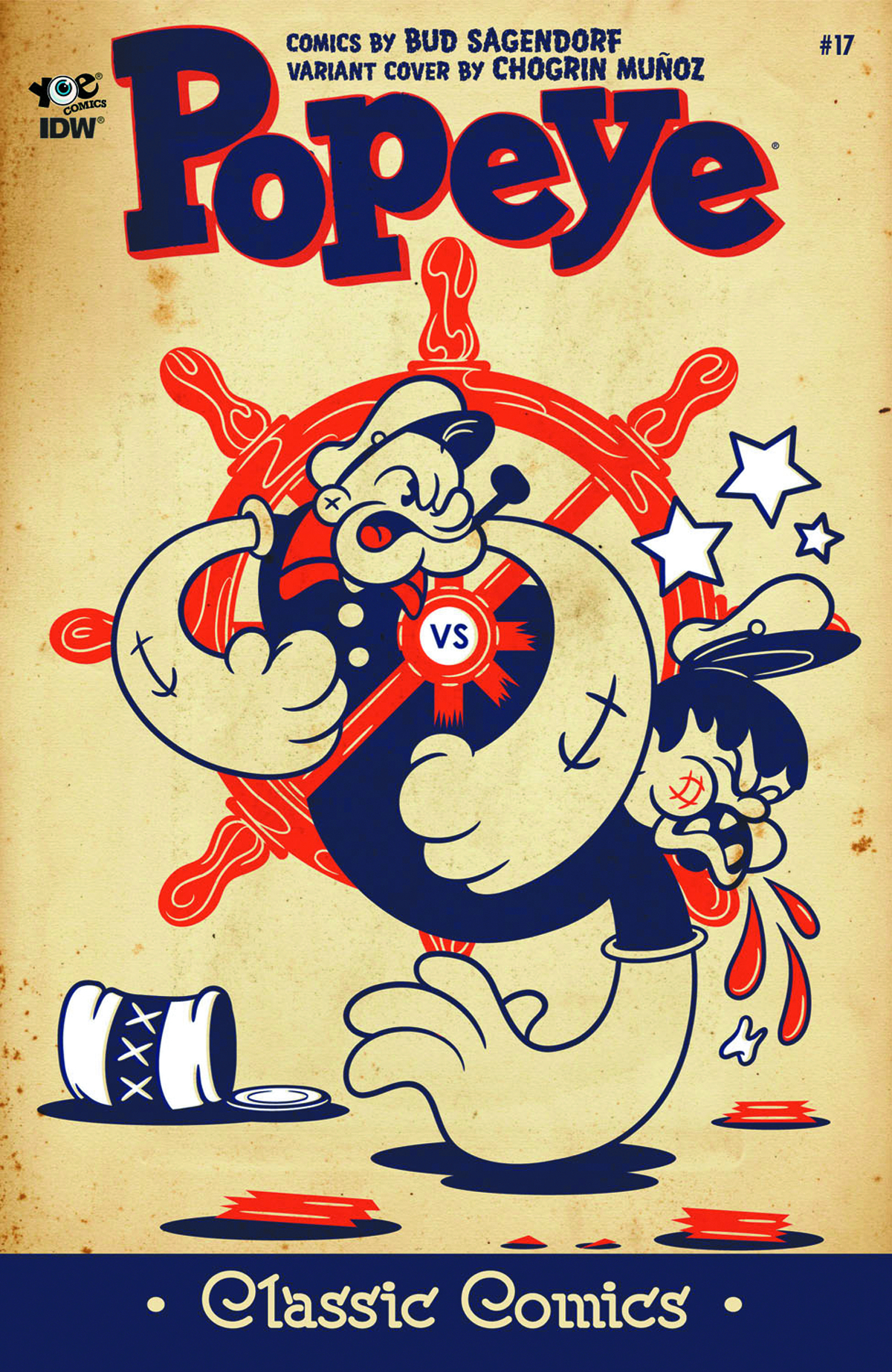 POPEYE CLASSICS ONGOING #17 FREE 10 COPY INCV