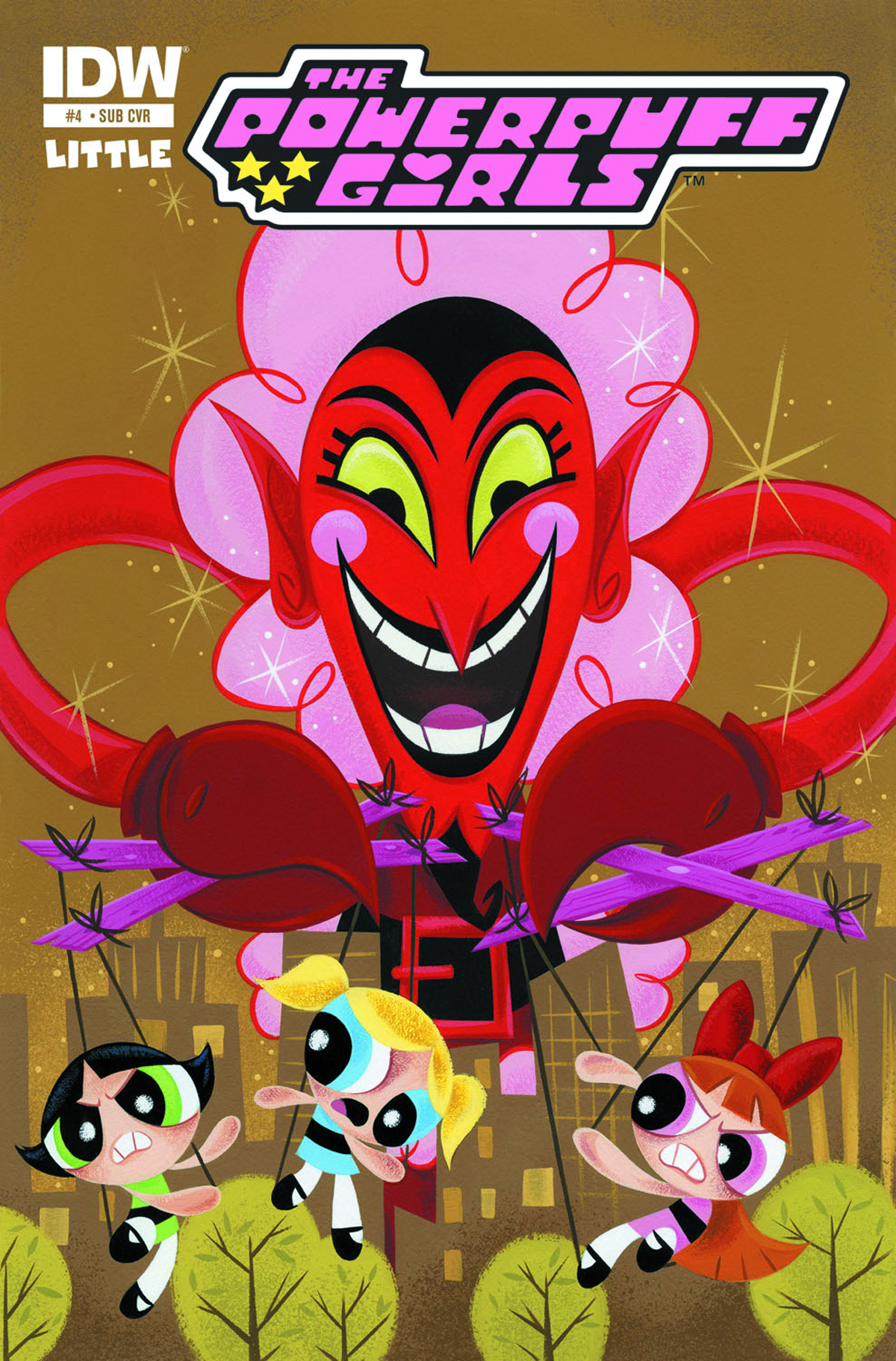 POWERPUFF GIRLS #4 SUBSCRIPTION VAR