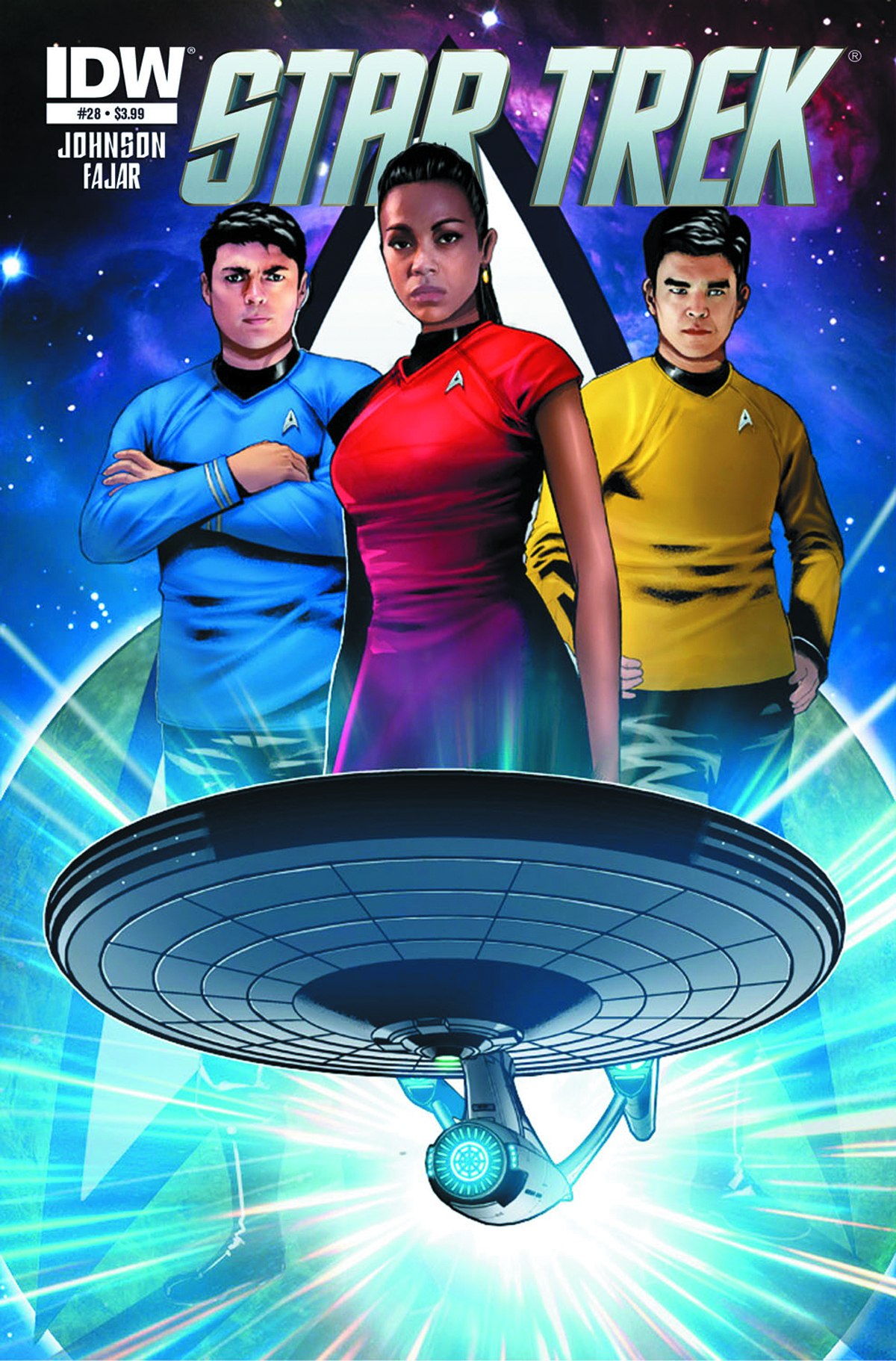 STAR TREK ONGOING #28 SUBSCRIPTION VAR