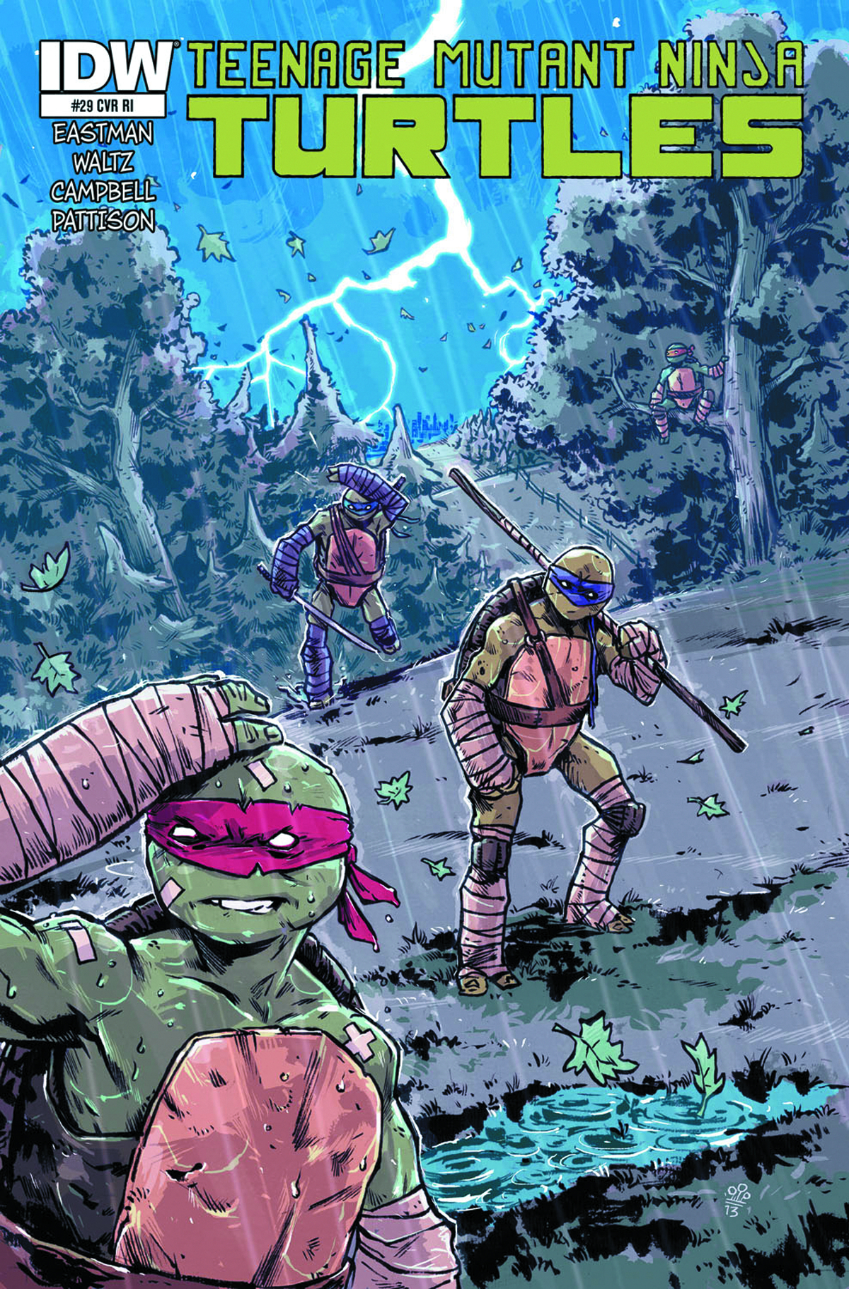 TMNT ONGOING #29 FREE 10 COPY INCV