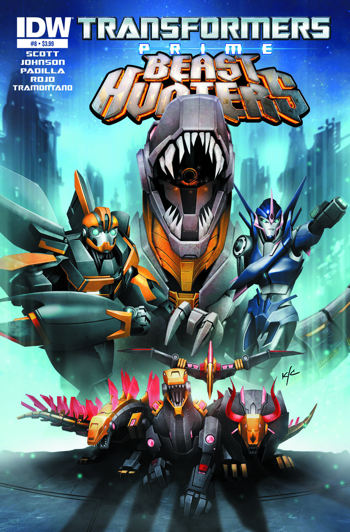 TRANSFORMERS PRIME BEAST HUNTERS #8 FREE 10 COPY INCV