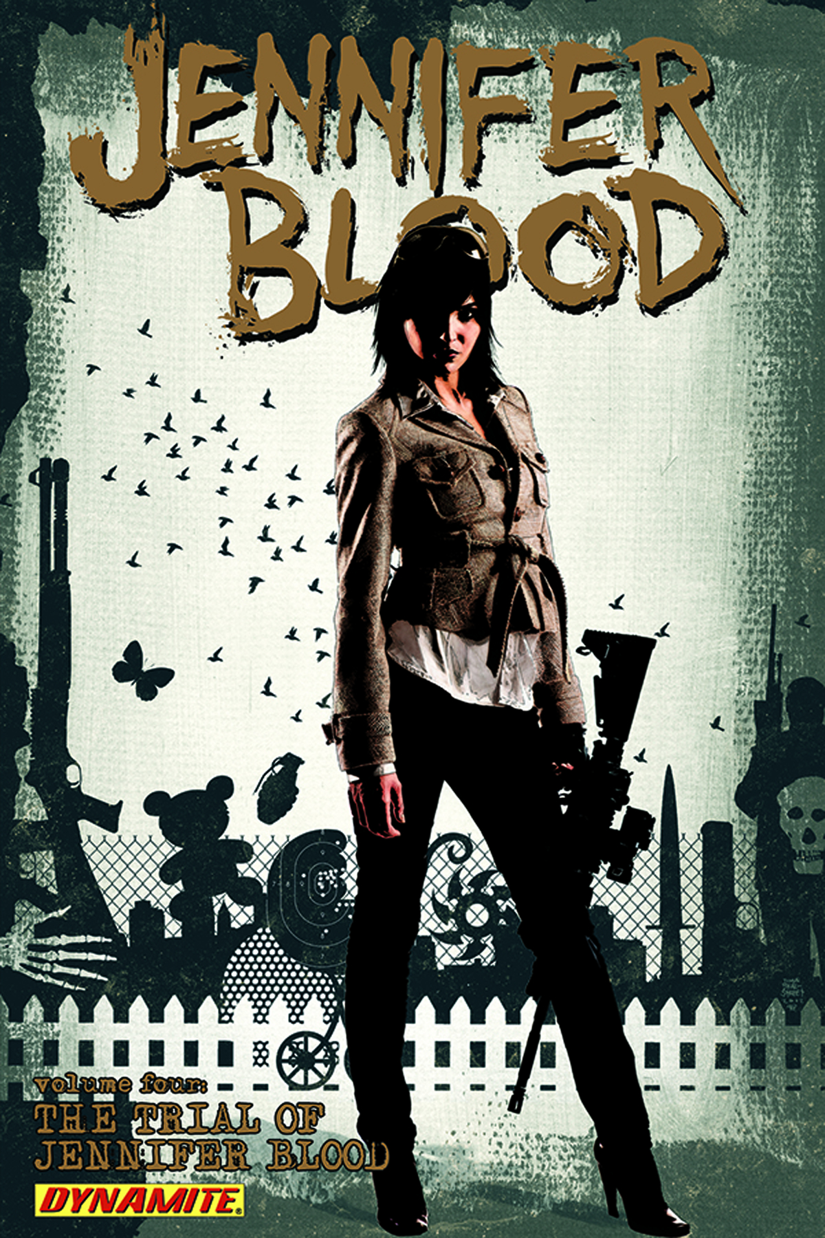 JENNIFER BLOOD TP VOL 04 TRIAL OF JENNIFER BLOOD