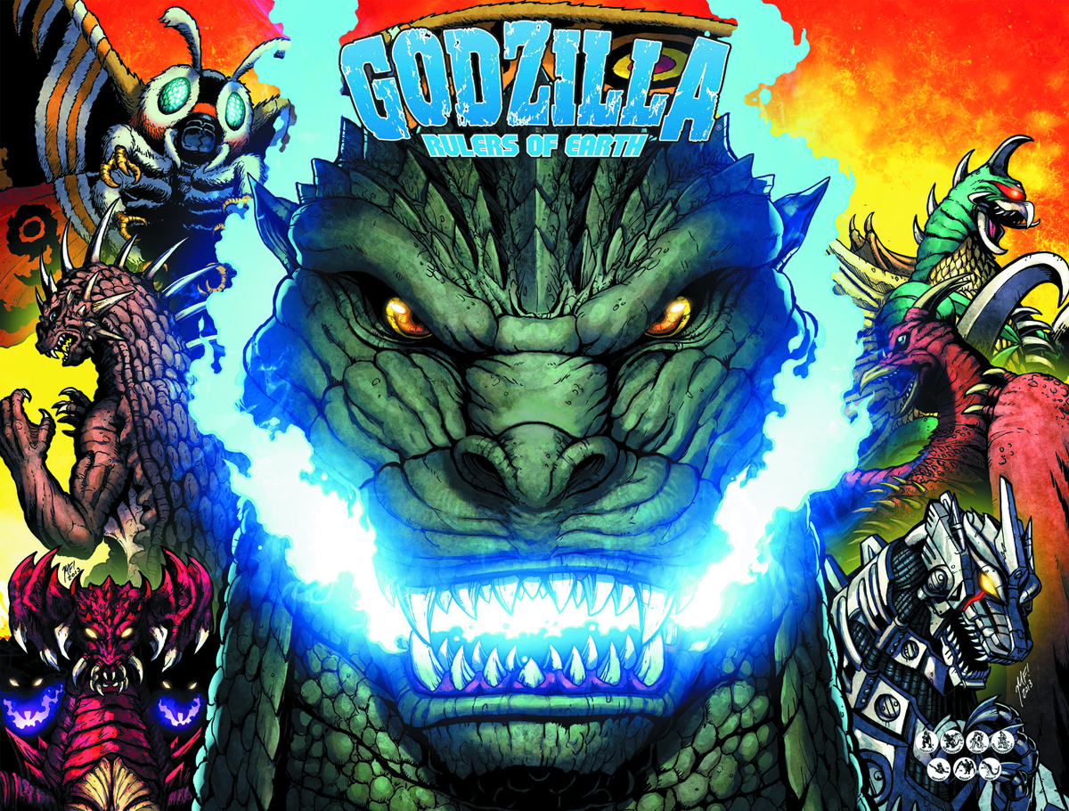 GODZILLA RULERS OF EARTH TP VOL 01