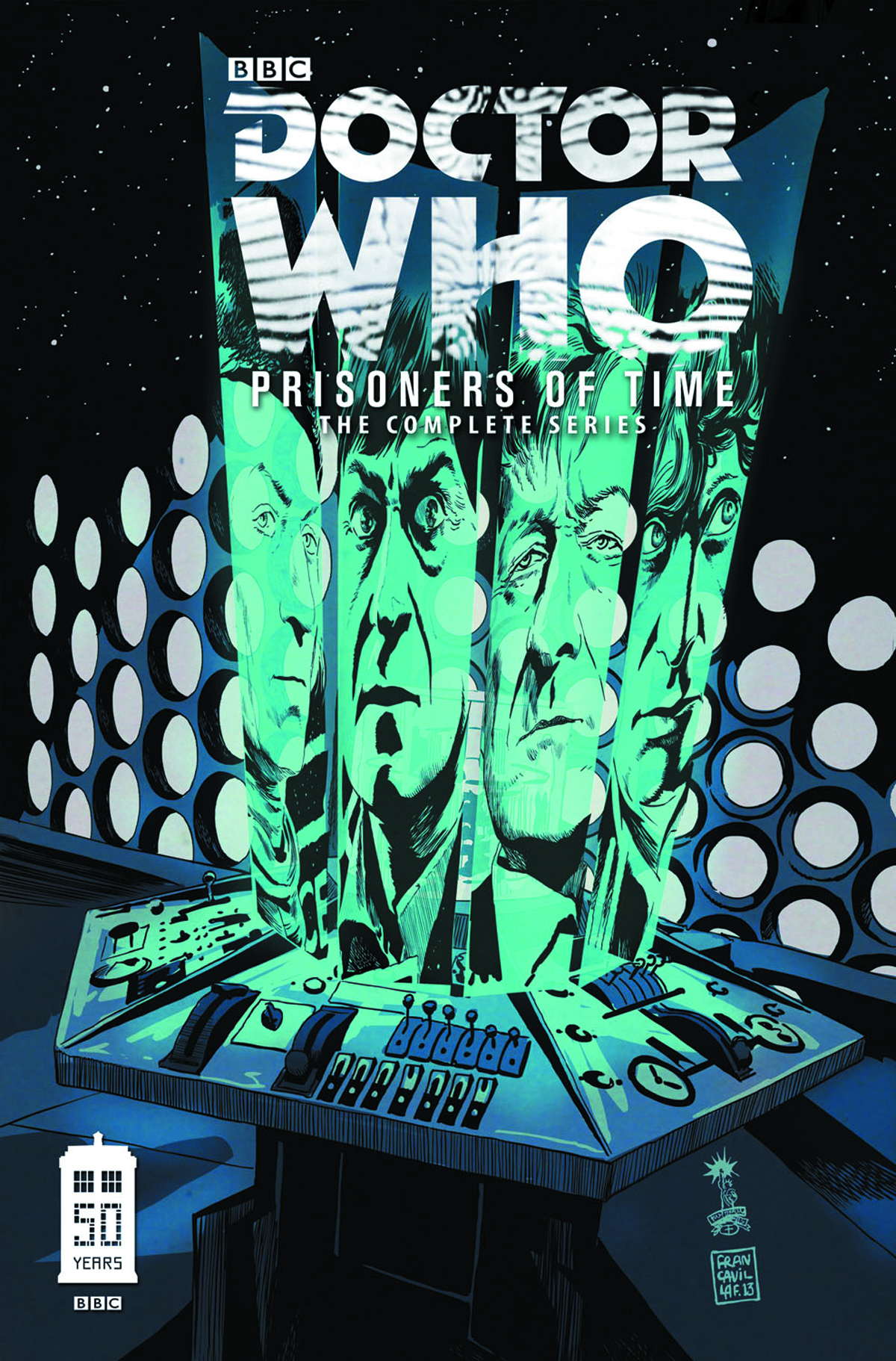 DOCTOR WHO PRISONERS OF TIME DLX HC