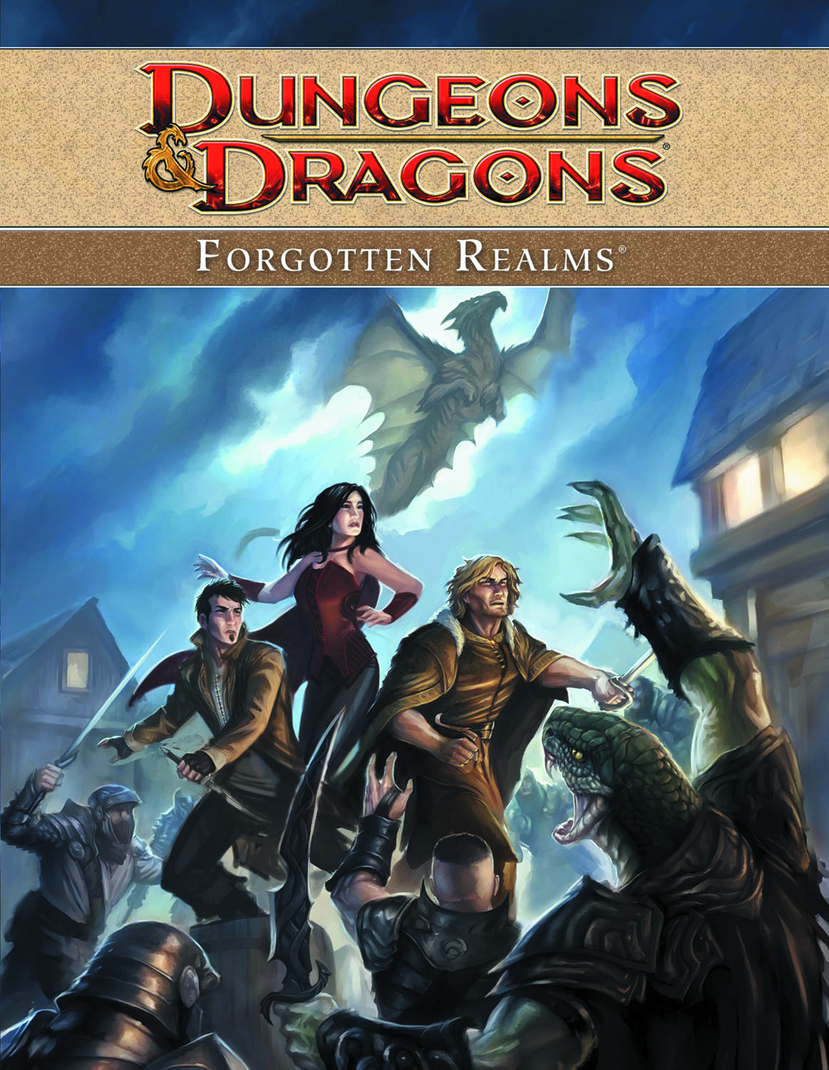DUNGEONS & DRAGONS FORGOTTEN REALMS TP