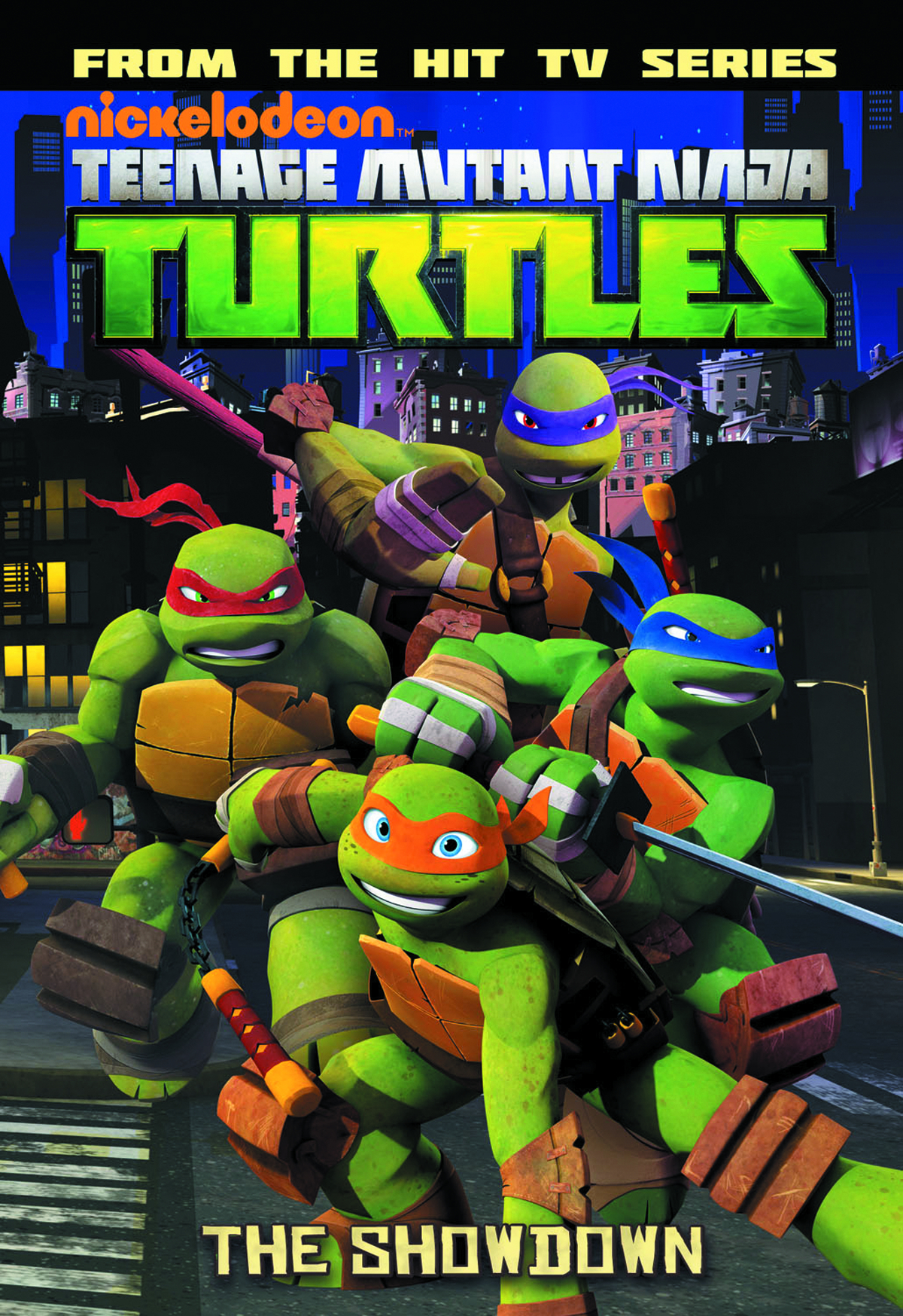 TMNT ANIMATED TP VOL 03 SHOWDOWN