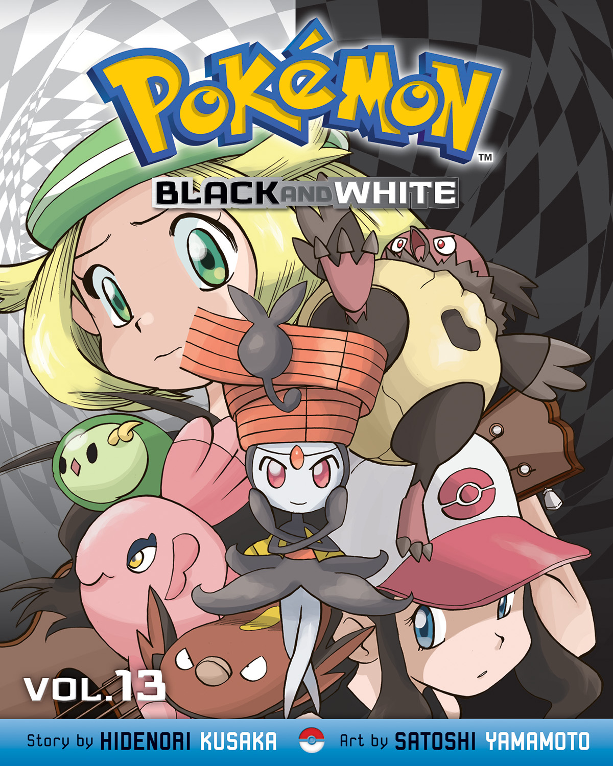 POKEMON BLACK & WHITE GN VOL 13