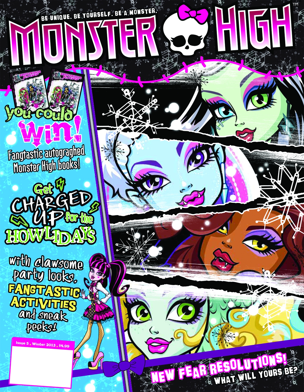 MONSTER HIGH MAGAZINE #5