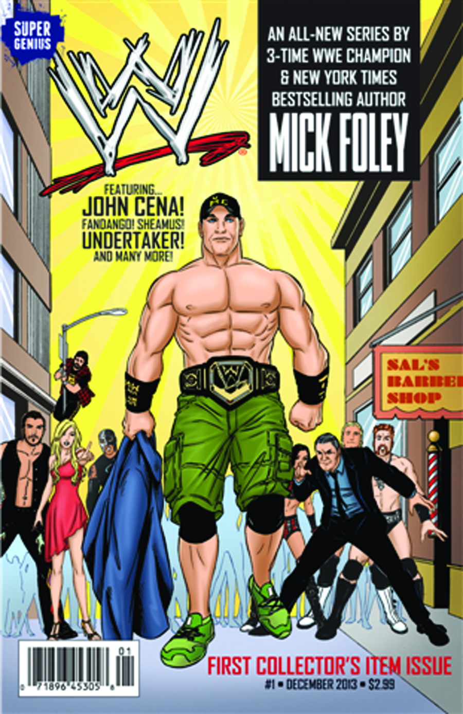WWE SUPERSTARS ONGOING #1 MAIN COVERS