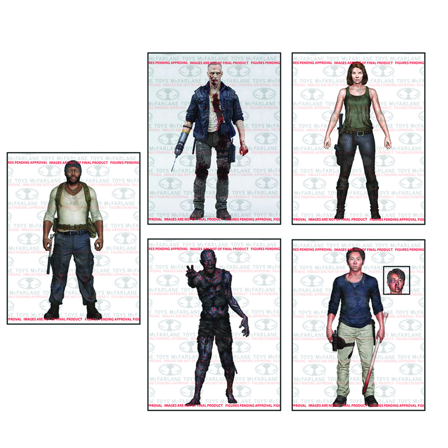 WALKING DEAD TV SERIES 5 AF ASST