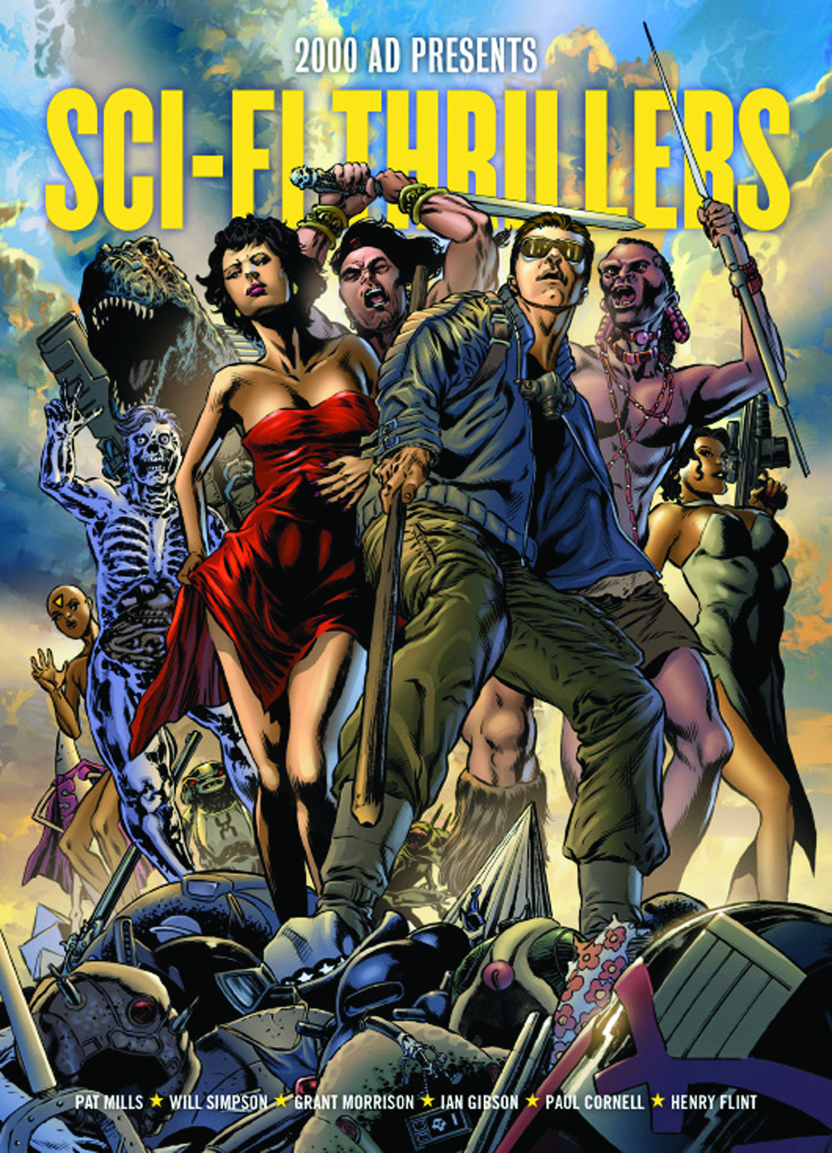 2000 AD PRES SCI-FI THRILLERS TP