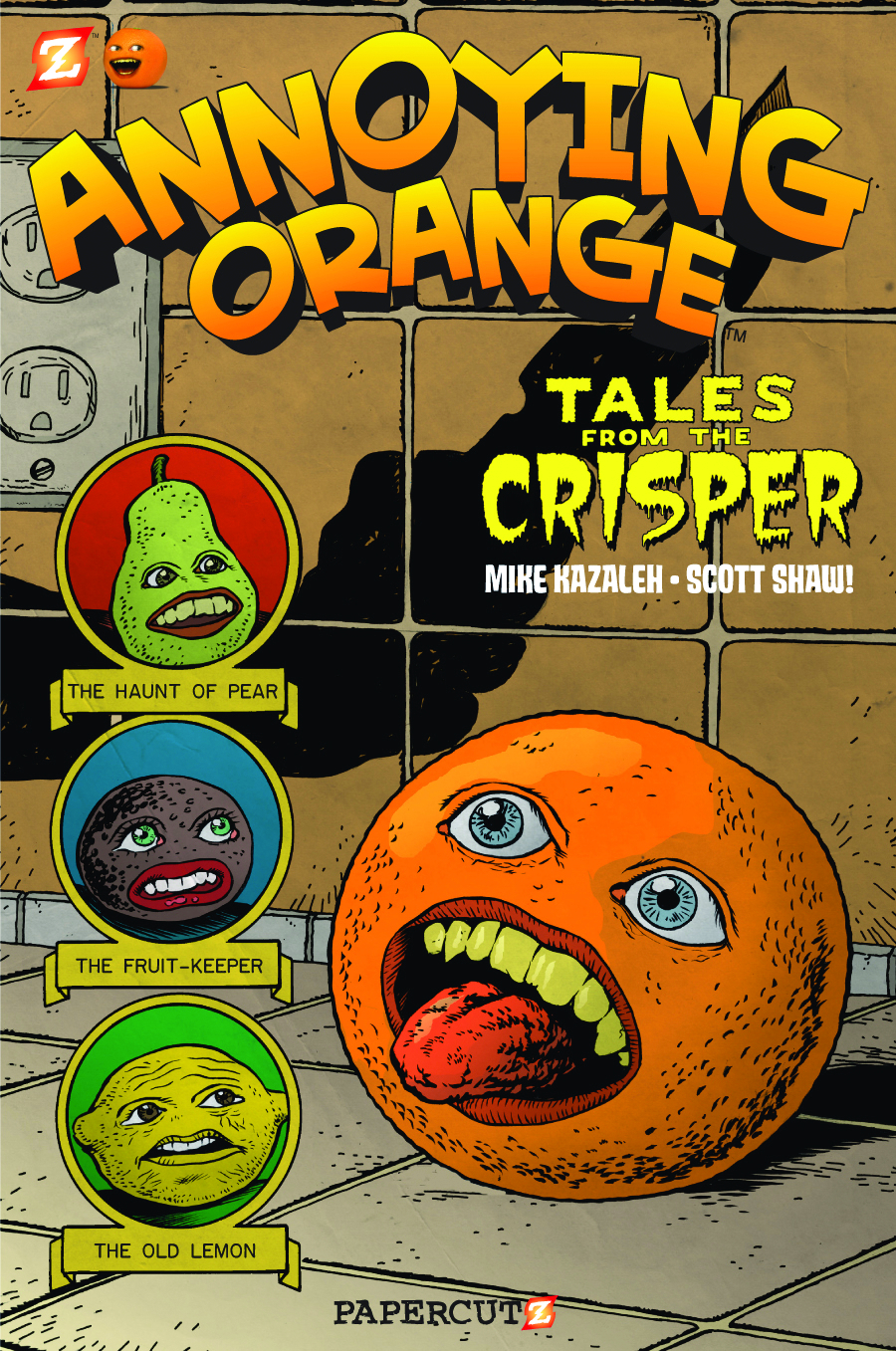 ANNOYING ORANGE GN VOL 04 TALES FROM CRISPER