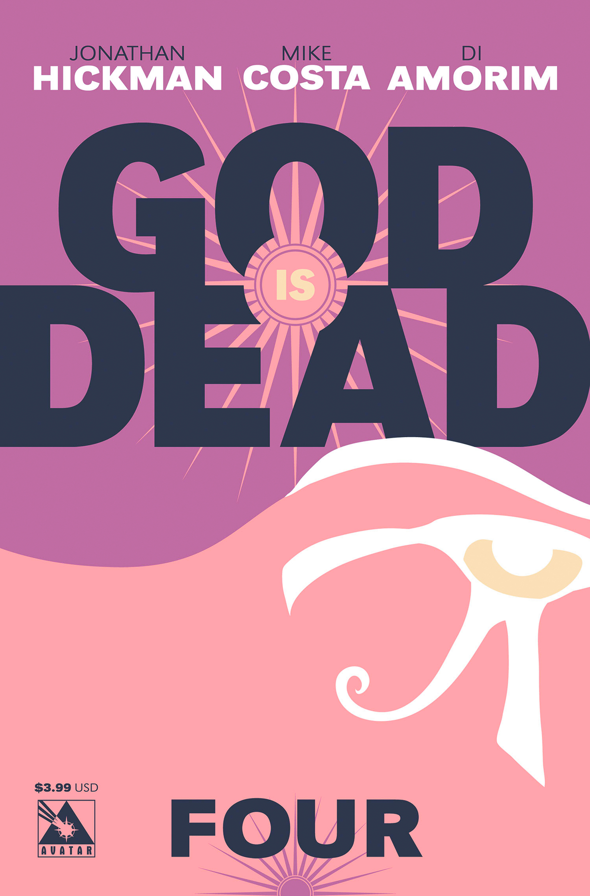 GOD IS DEAD #4 (MR)
