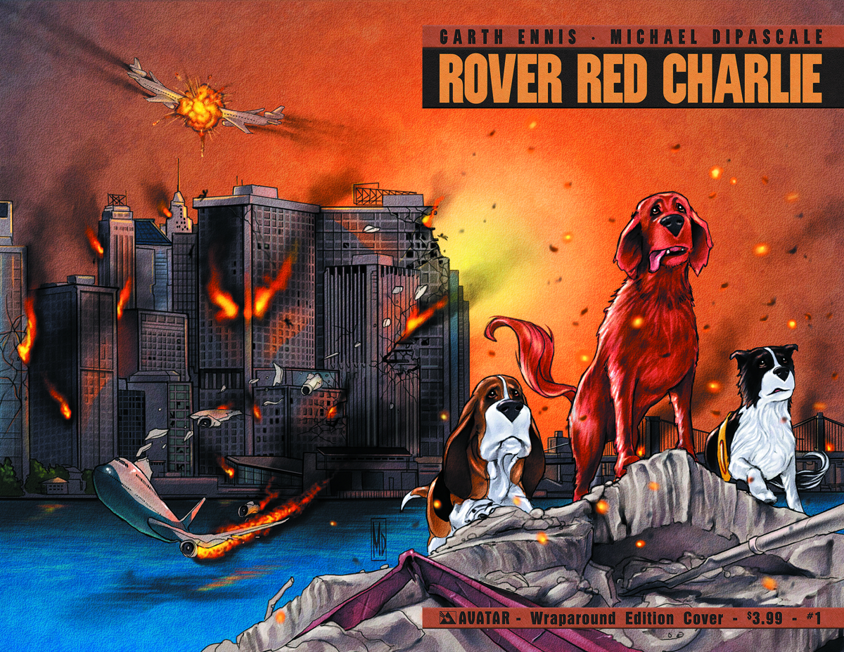 ROVER RED CHARLIE #1 (OF 6) WRAP CVR