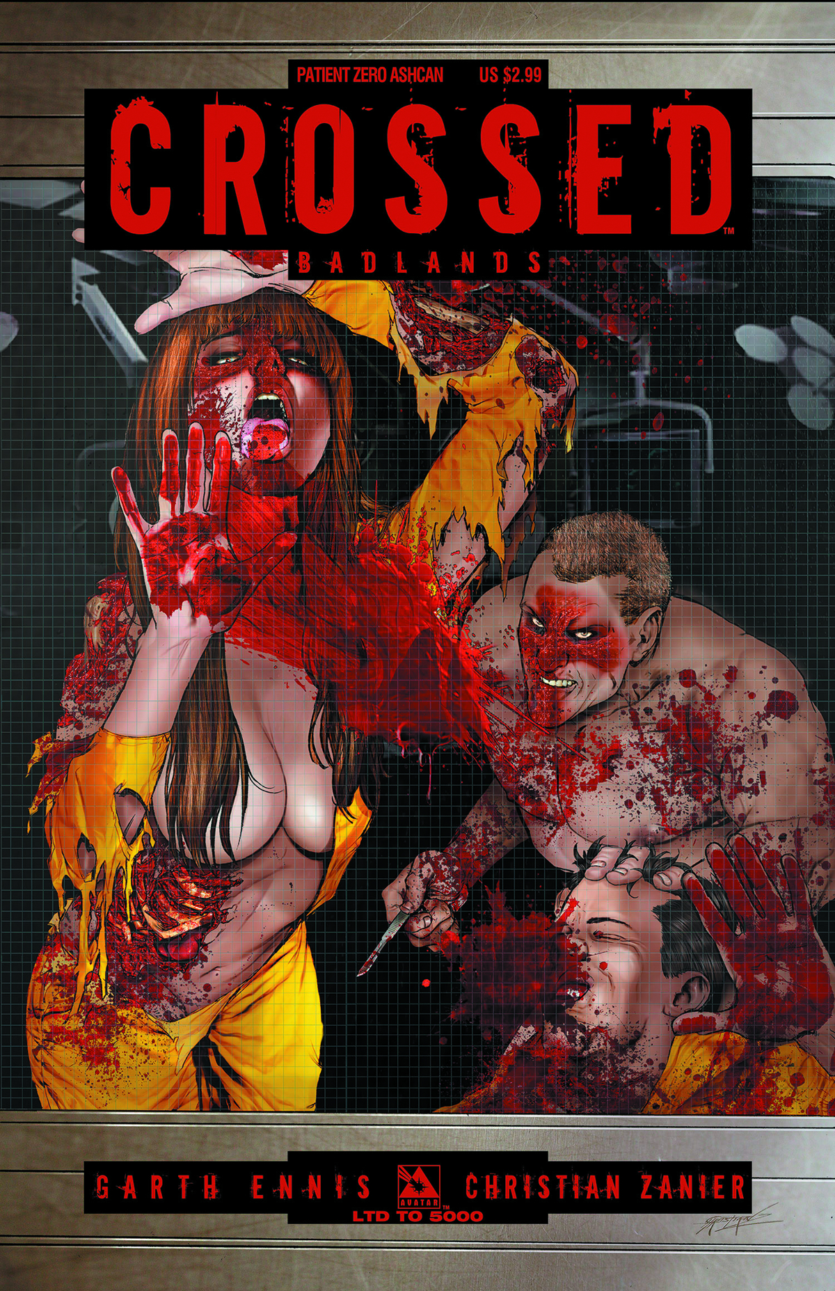 CROSSED BADLANDS PATIENT ZERO ASHCAN