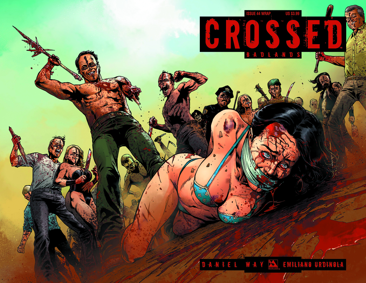 CROSSED BADLANDS #44 WRAP CVR