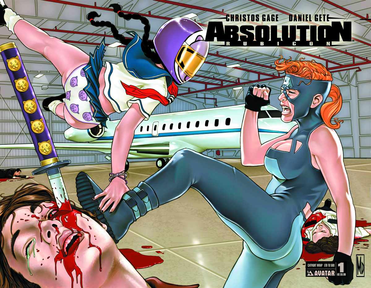 ABSOLUTION RUBICON #1 CATFIGHT WRAP CVR