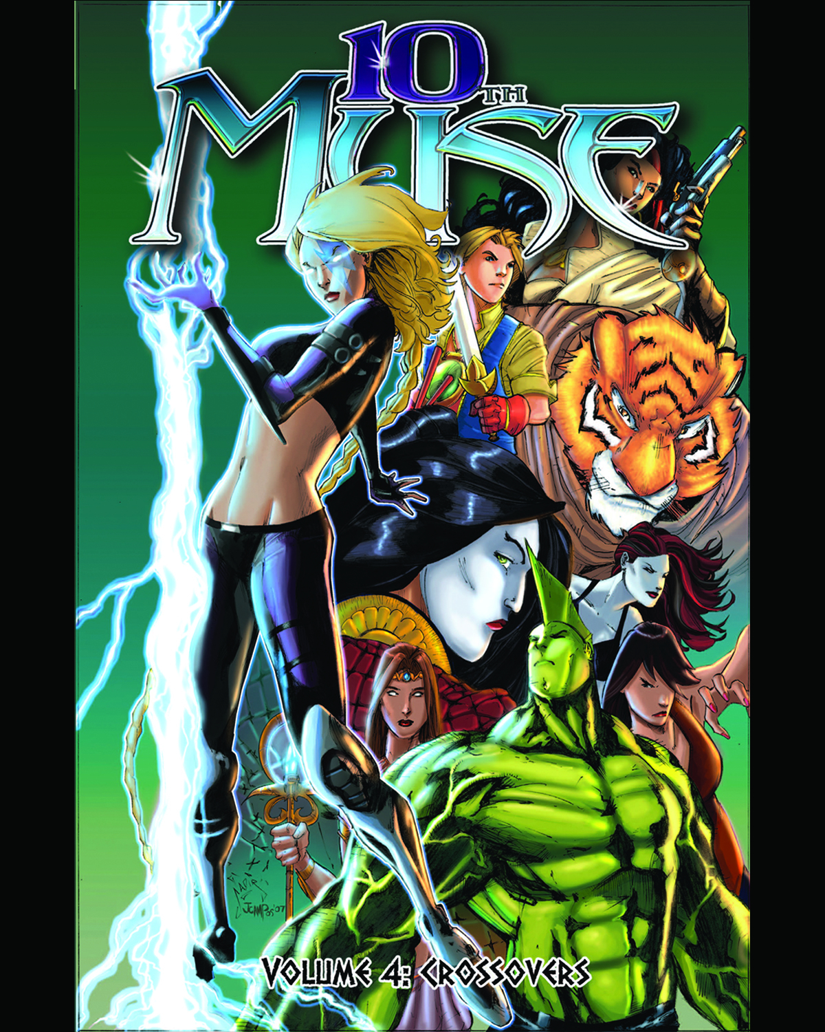 10TH MUSE TP VOL 04 CROSSOVERS