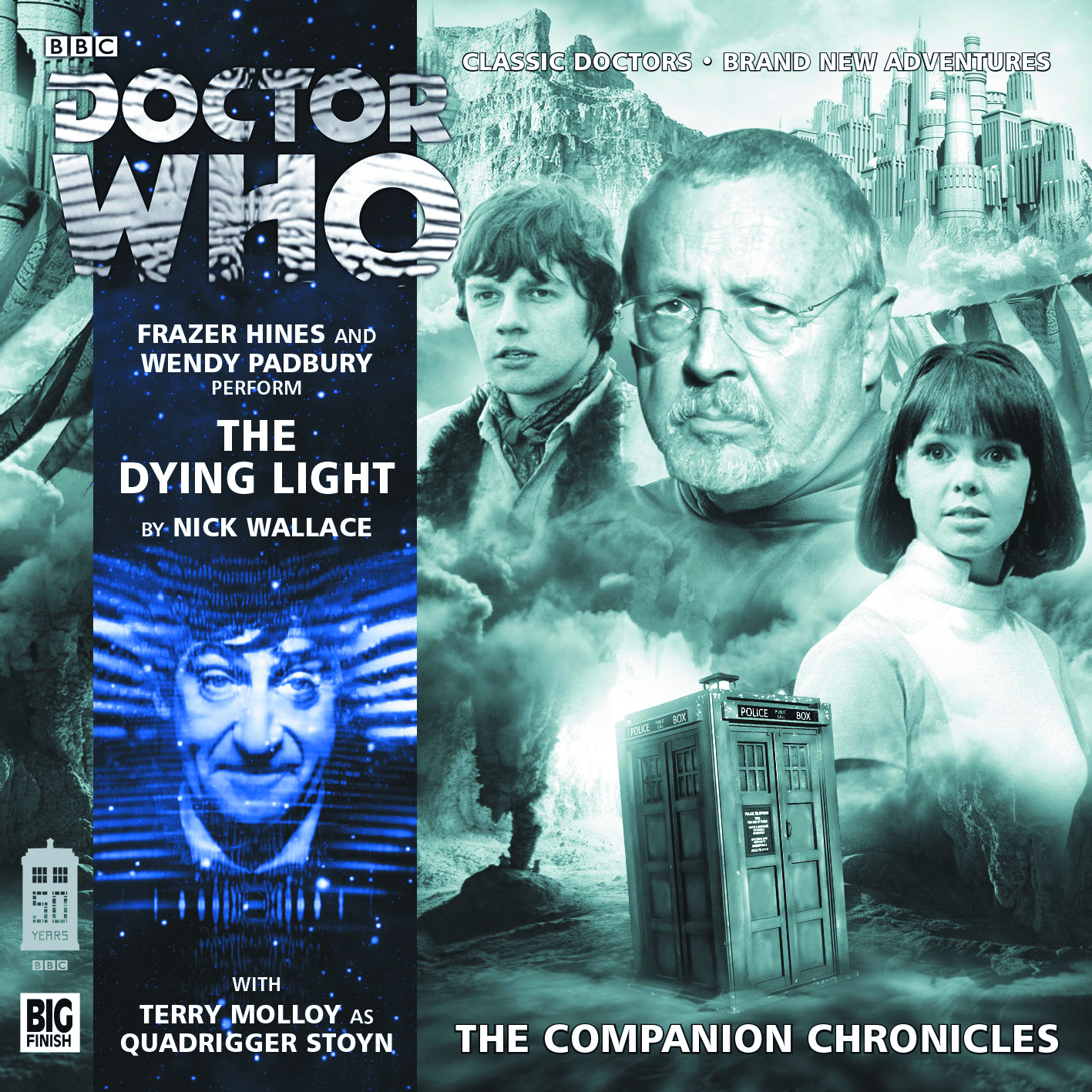 DOCTOR WHO COMP CHRON DYING LIGHT AUDIO CD