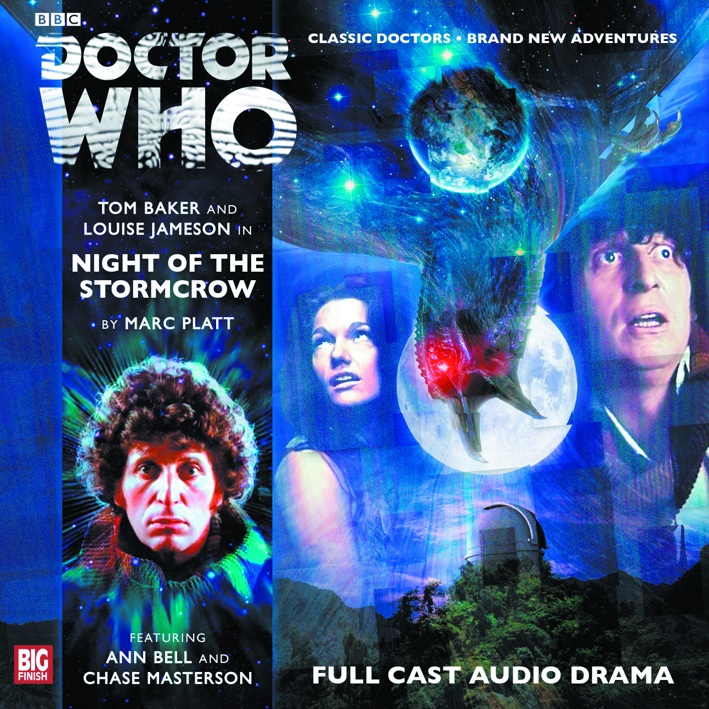 DOCTOR WHO NIGHT OF STORMCROW AUDIO CD REG ED