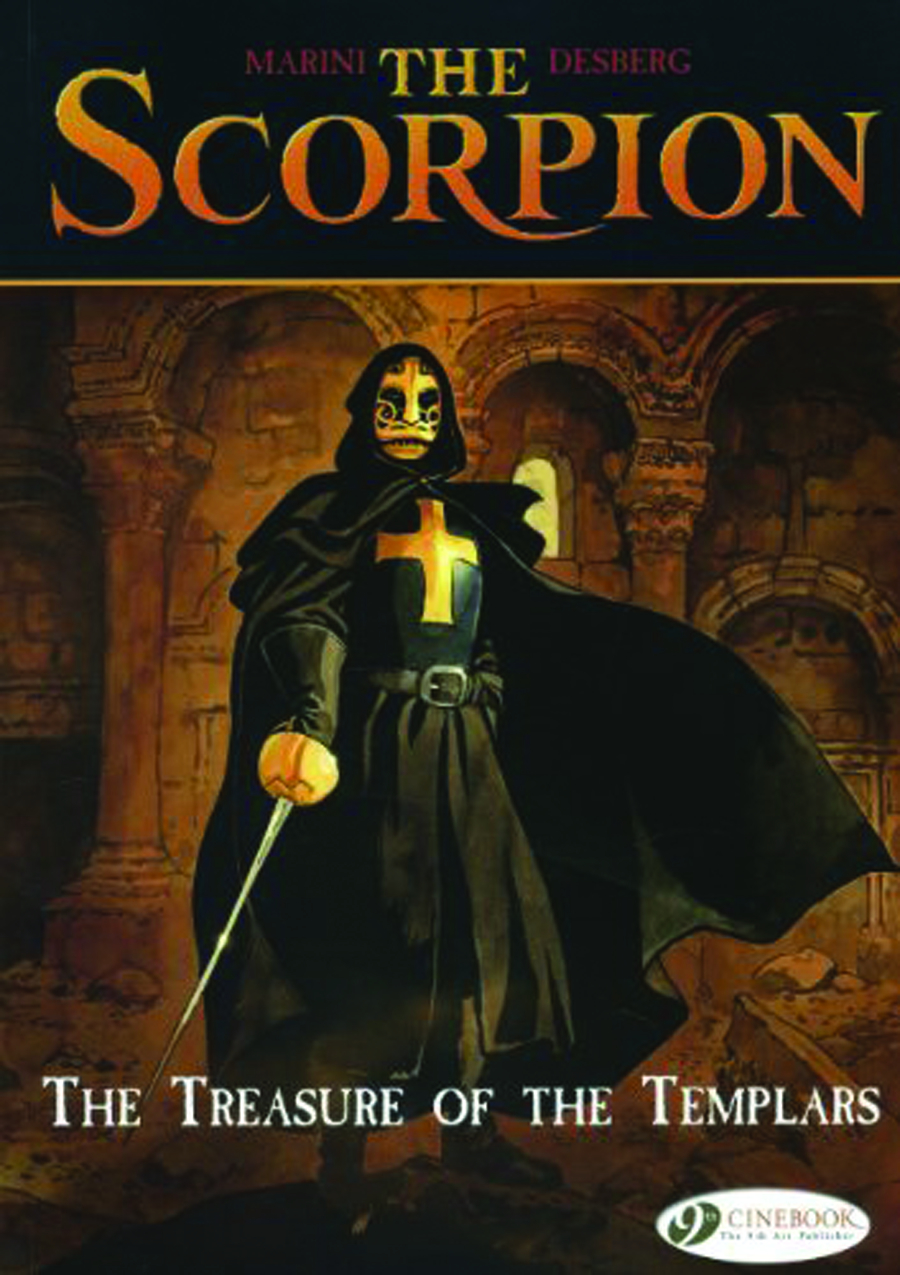SCORPION GN VOL 04 TREASURE OF TEMPLARS