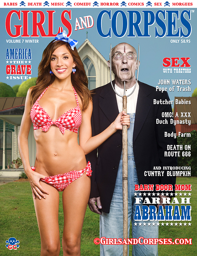 GIRLS AND CORPSES MAGAZINE WINTER 2013