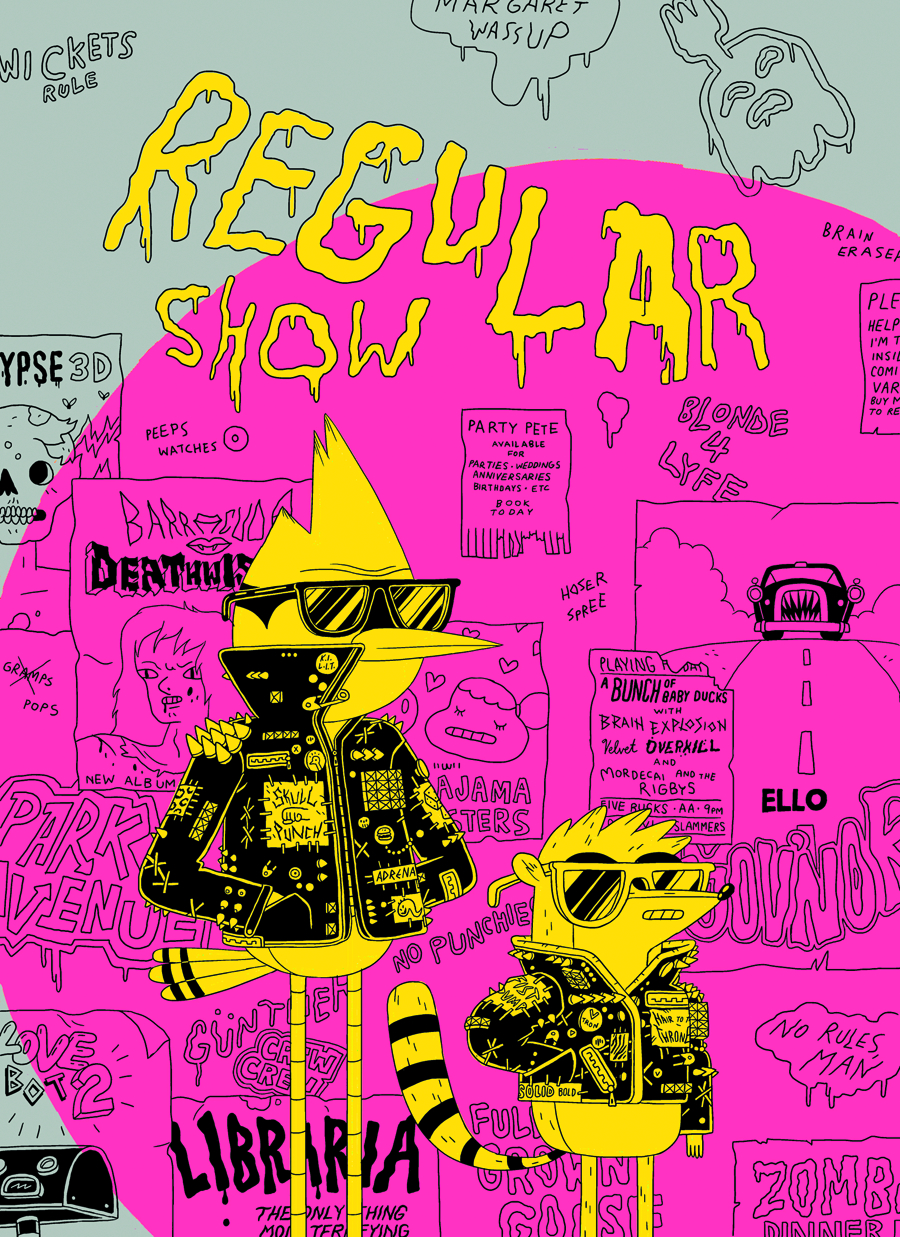REGULAR SHOW #9 20 COPY INCV DEFORGE VAR