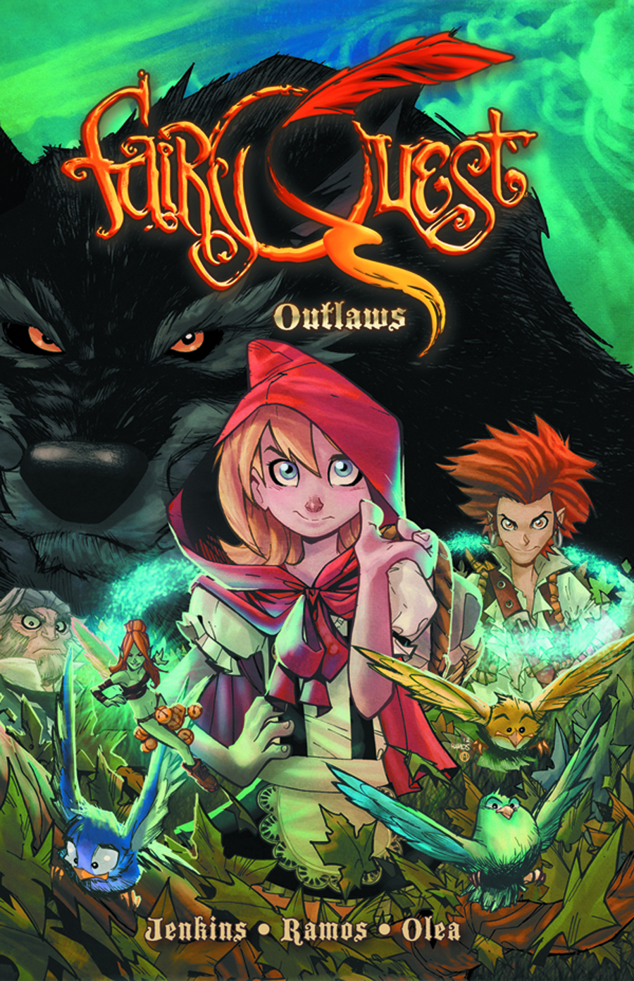 FAIRY QUEST TP VOL 01 OUTLAWS