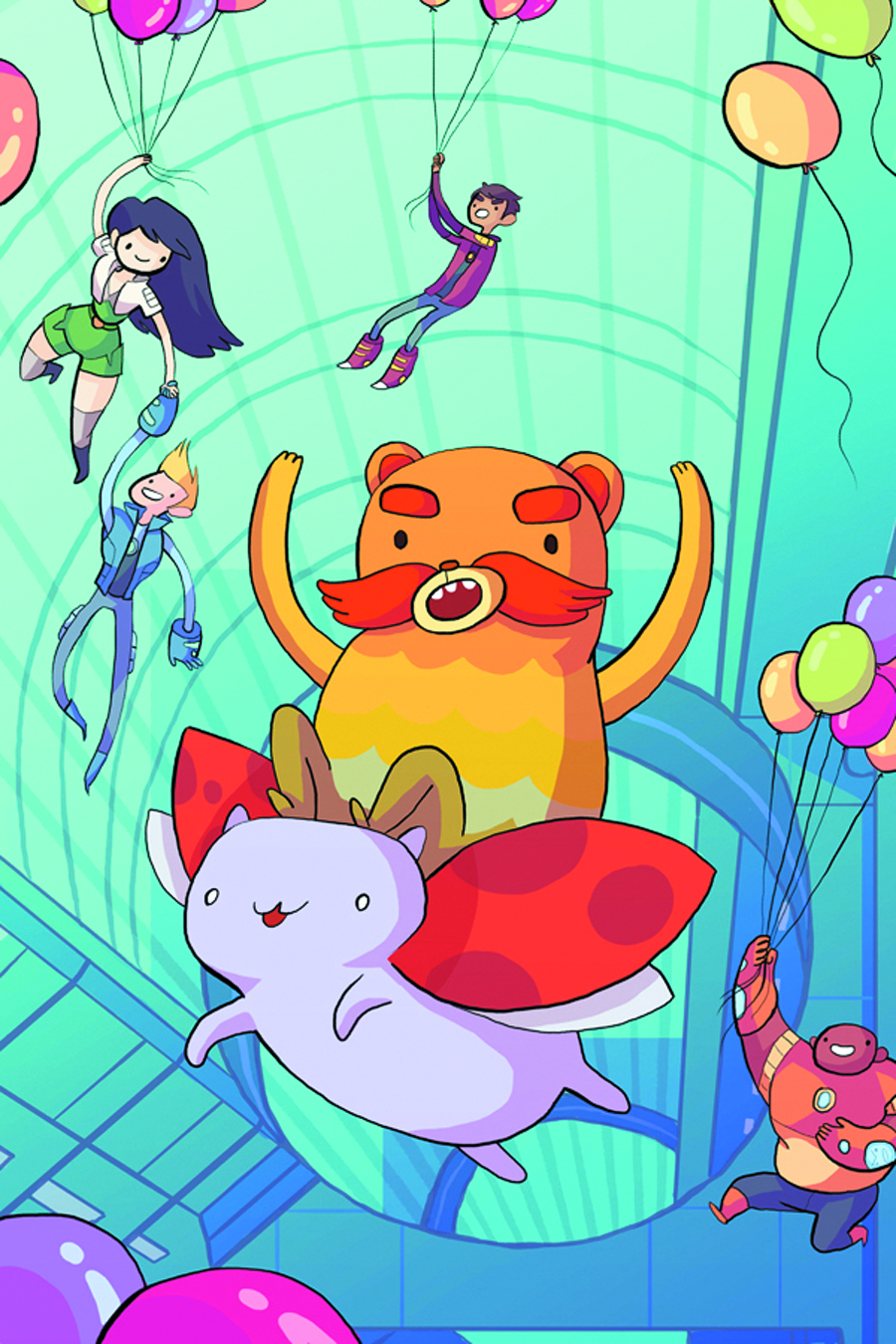 BRAVEST WARRIORS #10 SDCC EXC CVR