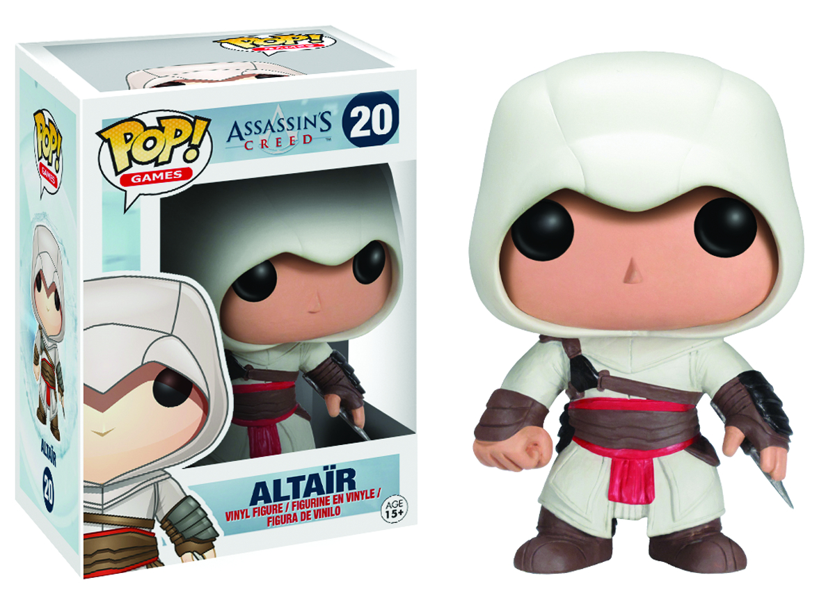 POP ASSASSINS CREED ALTAIR VINYL FIG