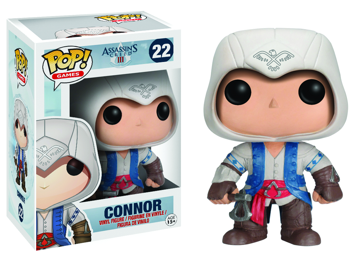 POP ASSASSINS CREED CONNOR VINYL FIG