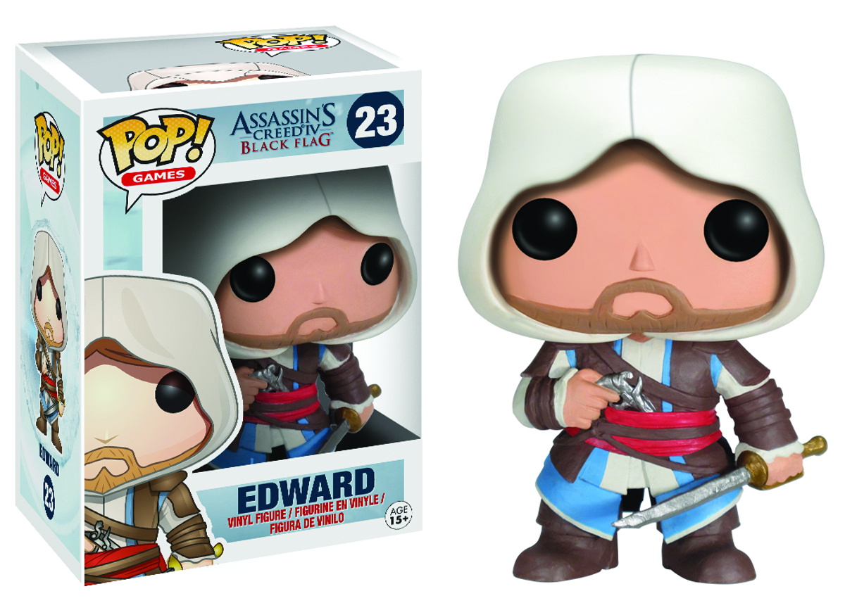 POP ASSASSINS CREED EDWARD VINYL FIG