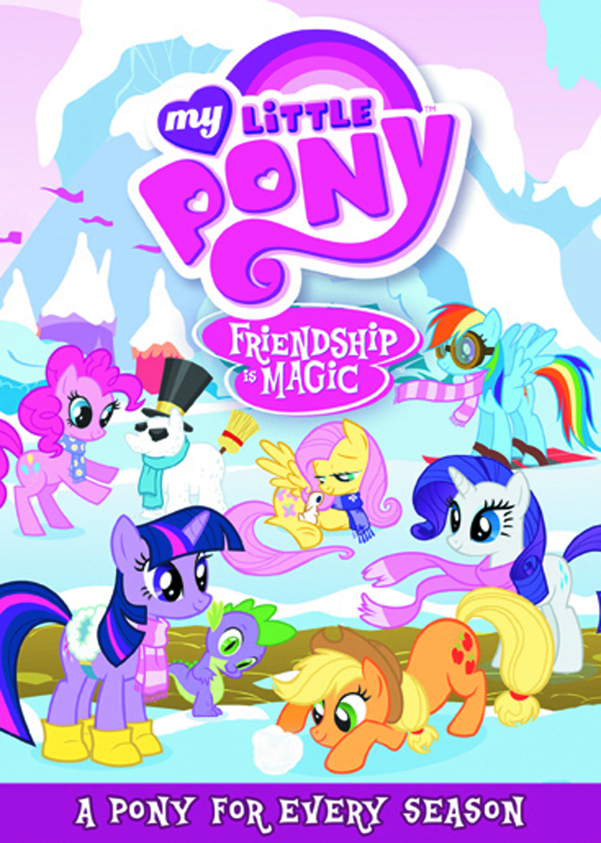 MY LITTLE PONY PONY FOR EVERY SEASON DVD