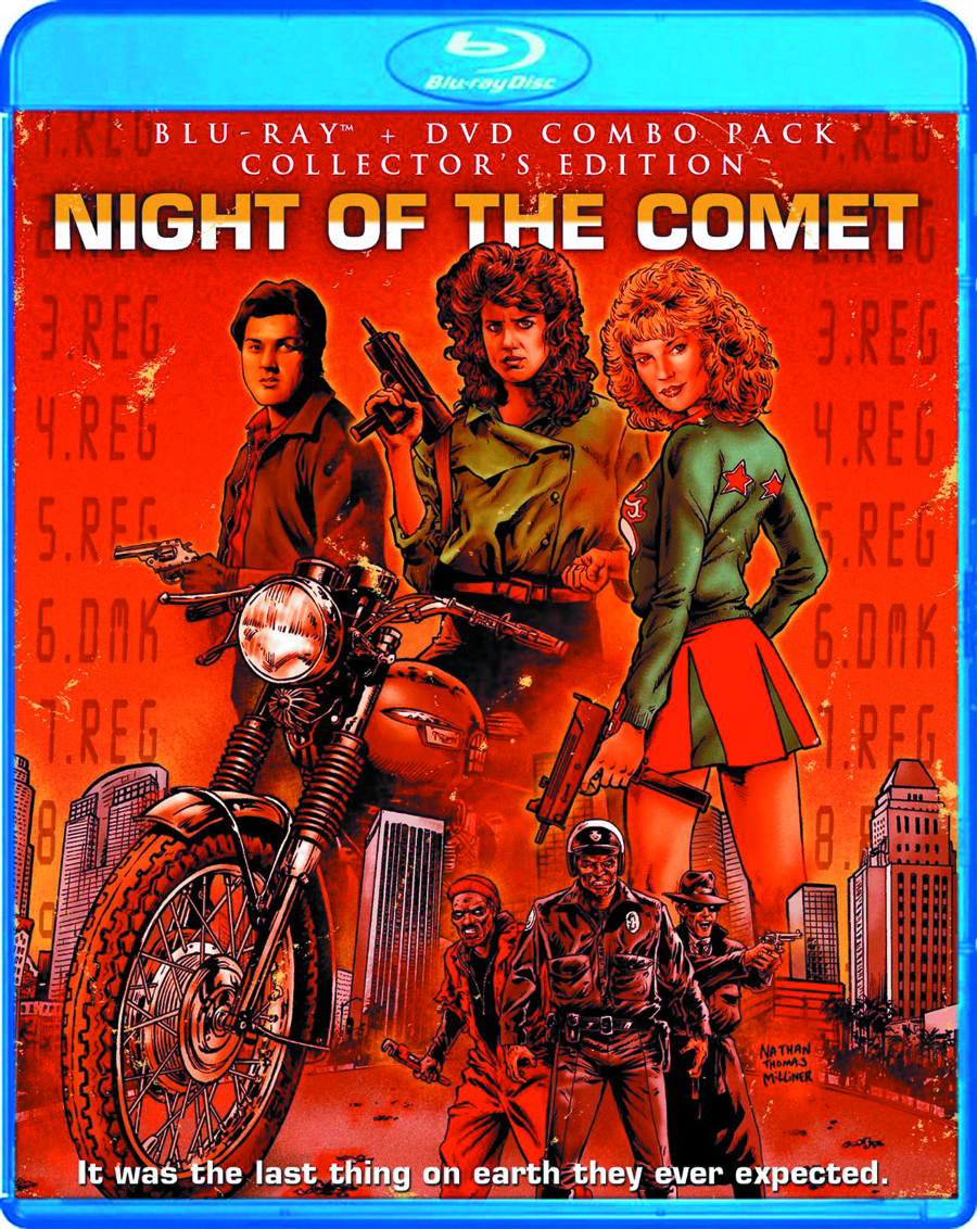 NIGHT OF THE COMET BD + DVD