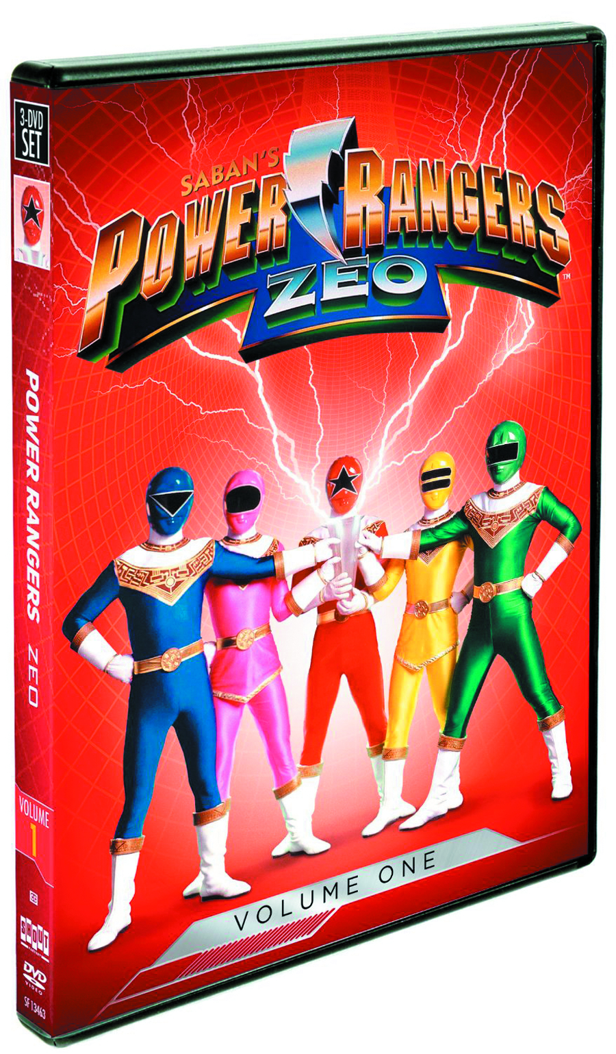 POWER RANGERS ZEO DVD VOL 01