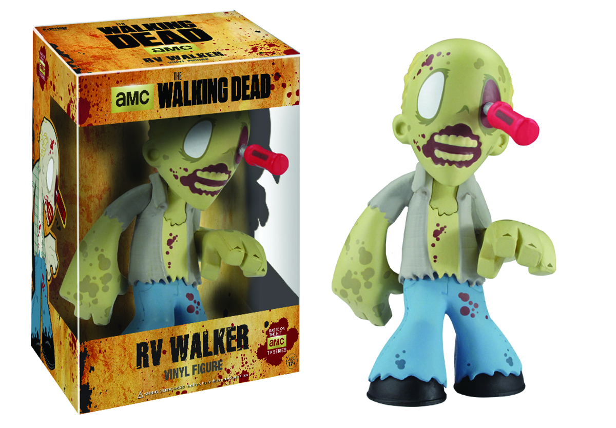 WALKING DEAD RV WALKER 7IN VINYL FIG