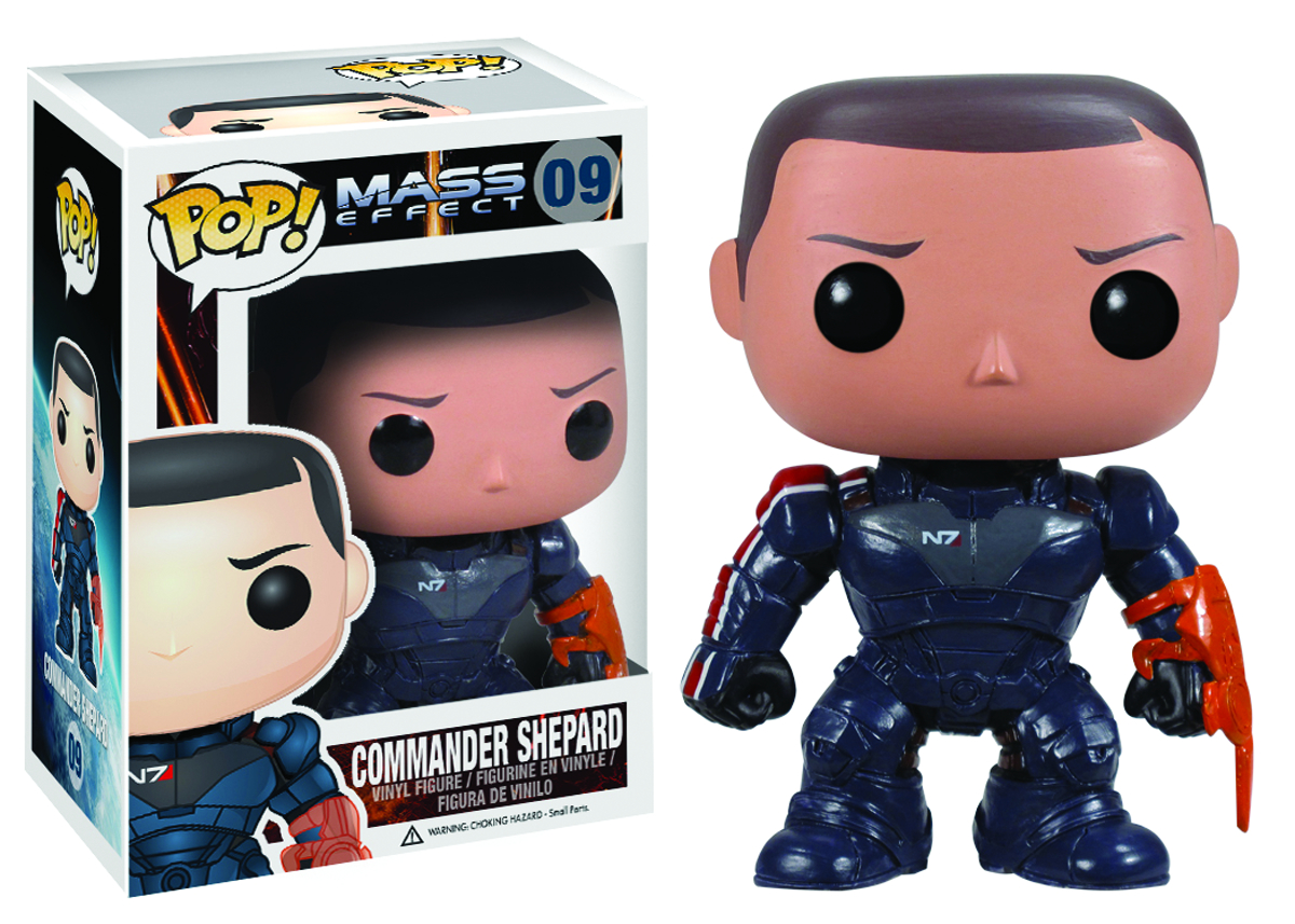 POP MASS EFFECT SHEPARD VINYL FIG