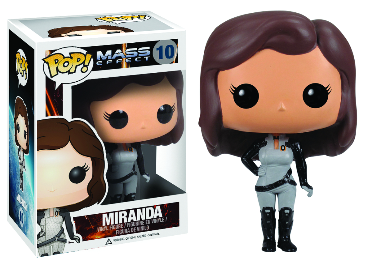 POP MASS EFFECT MIRANDA VINYL FIG