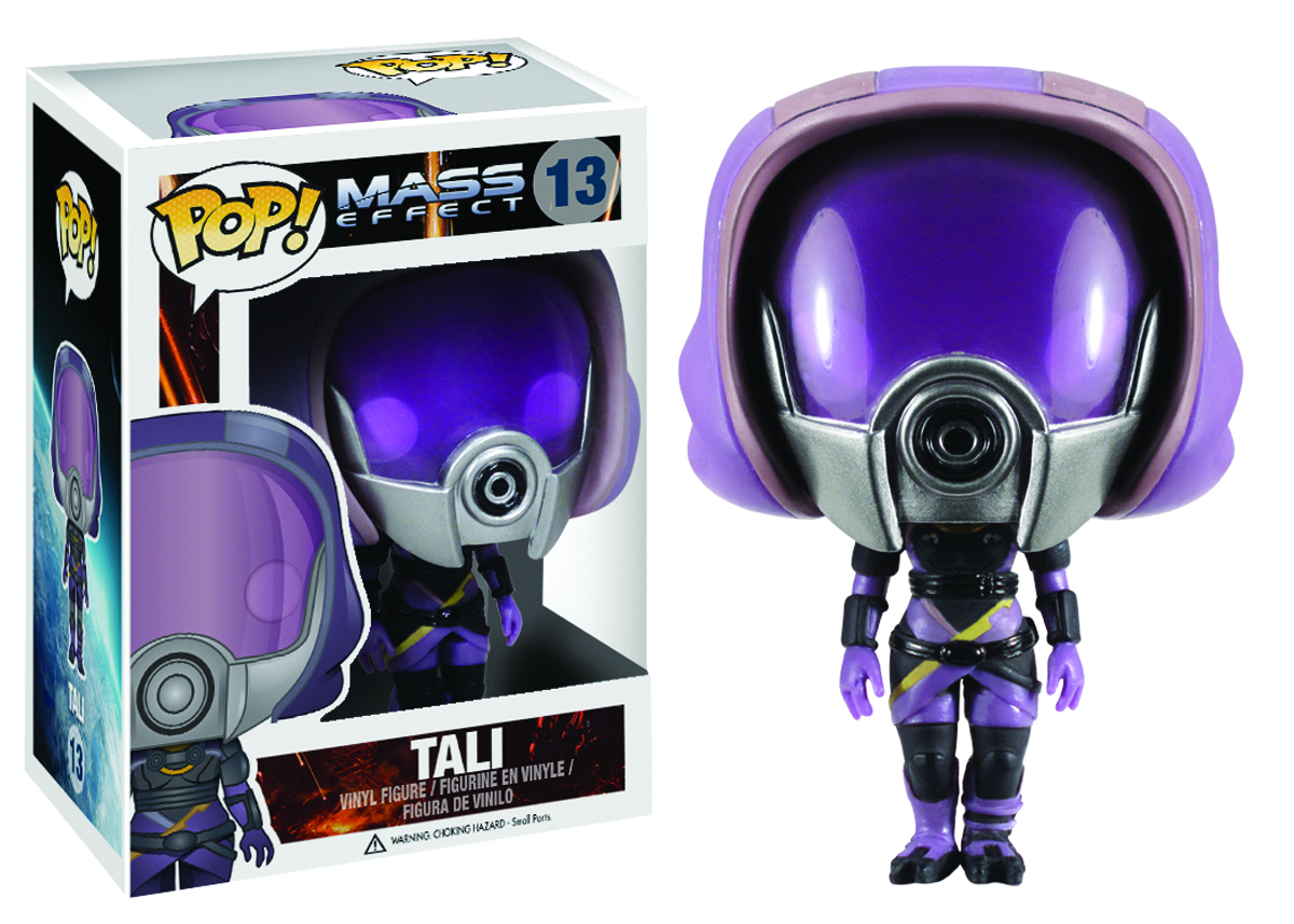 POP MASS EFFECT TALI VINYL FIG