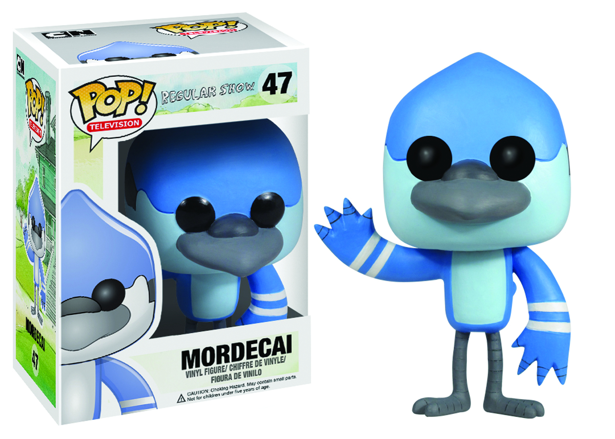 POP REGULAR SHOW MORDECAI VINYL FIG